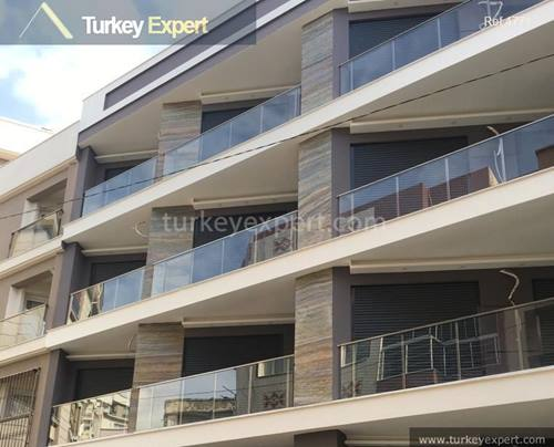 Izmir apartments for sale with high finishing standards, central location and low prices