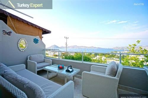 Holiday home with sea views in Bodrum Yalikavak