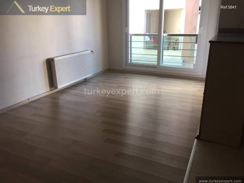 Second floor residential apartment for sale in Izmir near the airport and city center