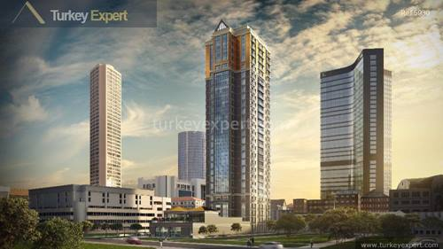 Bomonti residence Istanbul, tower project in the heart of Istanbul for early investors