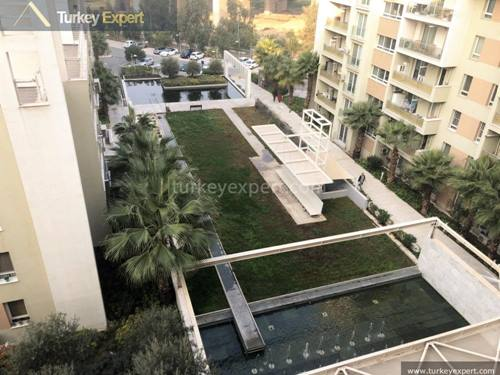 Apartment for sale in Izmir Mavisehir, shared swimming pool on site in a well known neighborhood