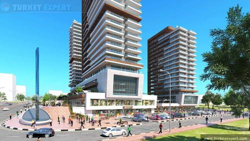 New apartments for sale in Istanbul Gunesli, eligible for Turkish citizenship application
