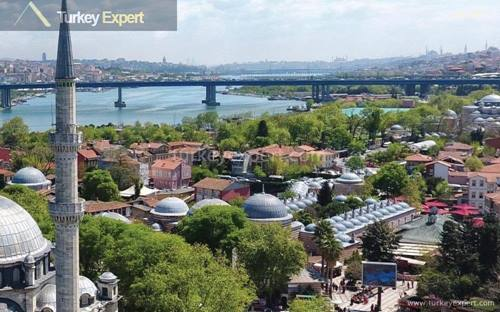 Breathe in the history of ancient Istanbul from newly built flats in Eyup