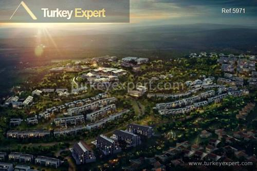 Designer flats surrounded by the peaceful Belgrad Forest in Zekeriyakoy Istanbul
