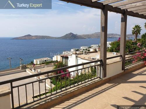 Detached villa with panoramic sea views in Bodrum Yalikavak