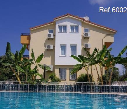 Detached 5-bedroom villa for sale by the pool in Kusadasi,  Silver Sand Beach