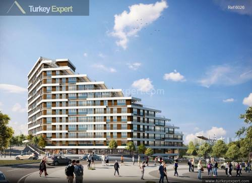 Modern apartments for sale in Istanbul near Basaksehir
