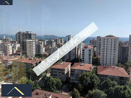 Amazing panoramic view apartment, overlooking Bagdat street and Princess islands in Istanbul