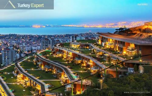 Luxury apartments and villas for sale in Izmir with breathtaking sea views for