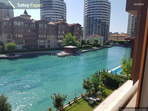 Spacious waterfront apartment for sale in Istanbul Halkali, inspired by Bosphorus