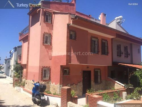 Partly furnished villa for sale at Ladies Beach Kusadasi