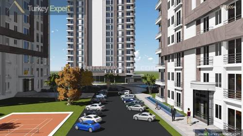 Low priced apartments for sale in a new project, Istanbul Esenyurt
