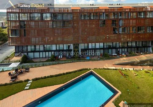 Luxury completed apartments in Istanbul for sale, move-in now and pay in 60 installments