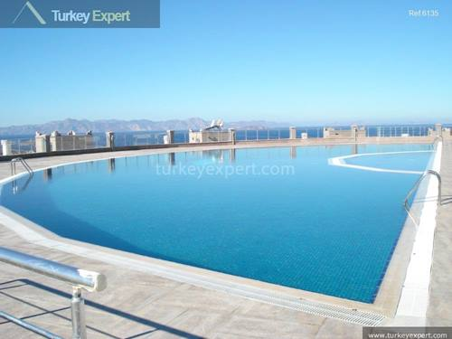 Top floor apartment with sea views for sale in Bodrum Gumusluk