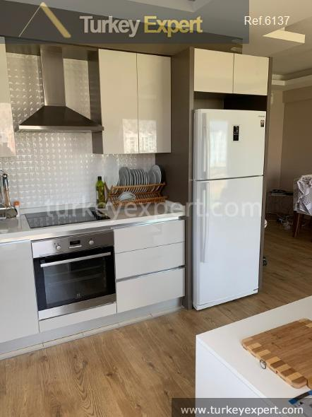 furnished 1bed apartment in antalya10