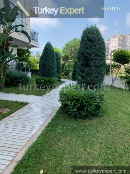 furnished 1bed apartment in antalya13