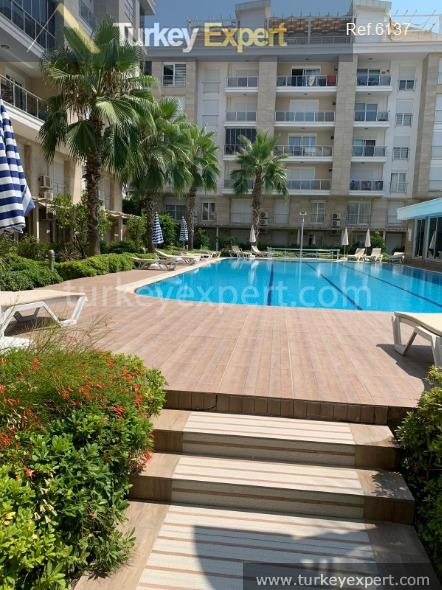 furnished 1bed apartment in antalya21