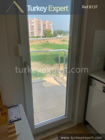 furnished 1bed apartment in antalya4