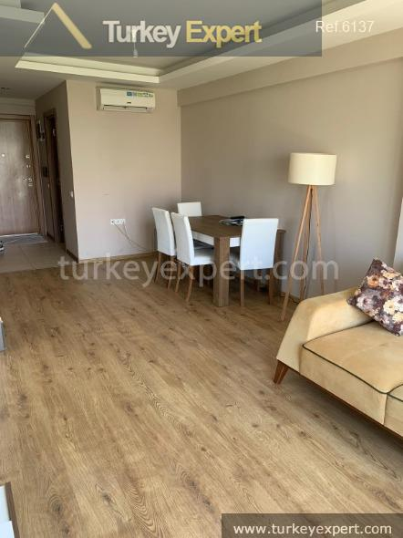 furnished 1bed apartment in antalya8