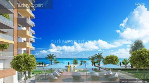 Beachfront apartments in Antalya Alanya with amazing sea views