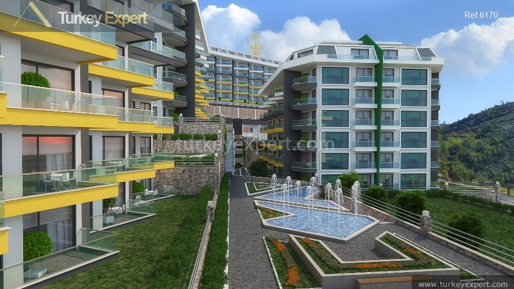 sea view apartments in alanya10