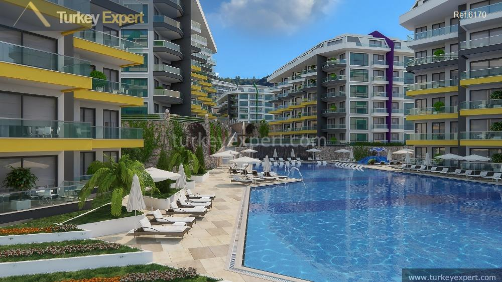 sea view apartments in alanya11