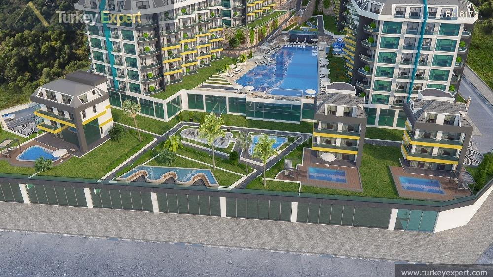 sea view apartments in alanya4