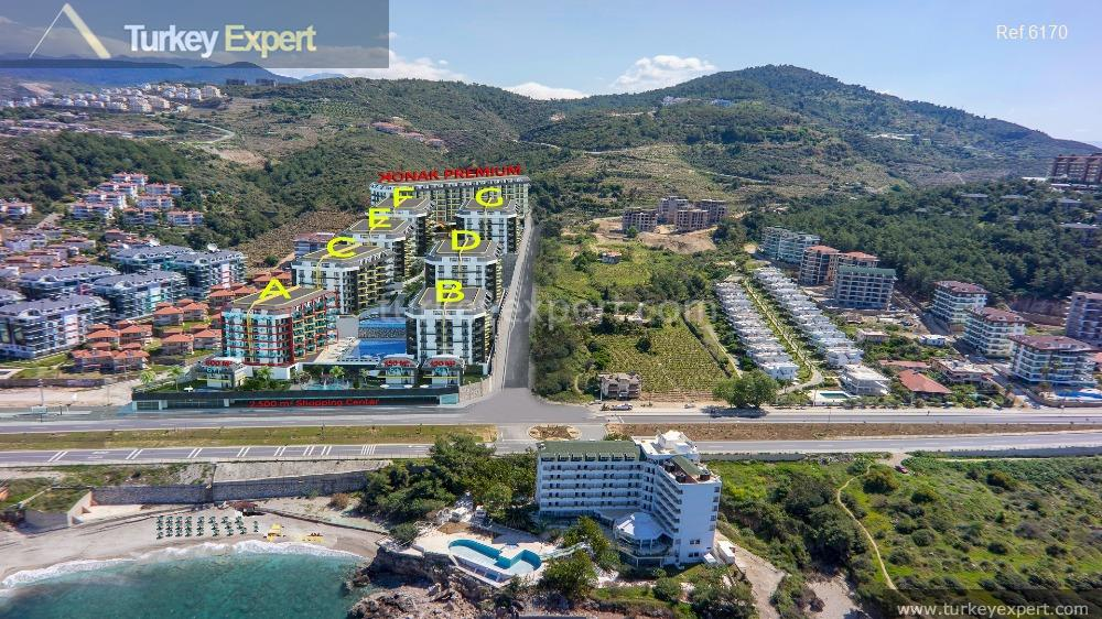 sea view apartments in alanya6