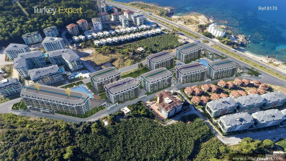 sea view apartments in alanya7