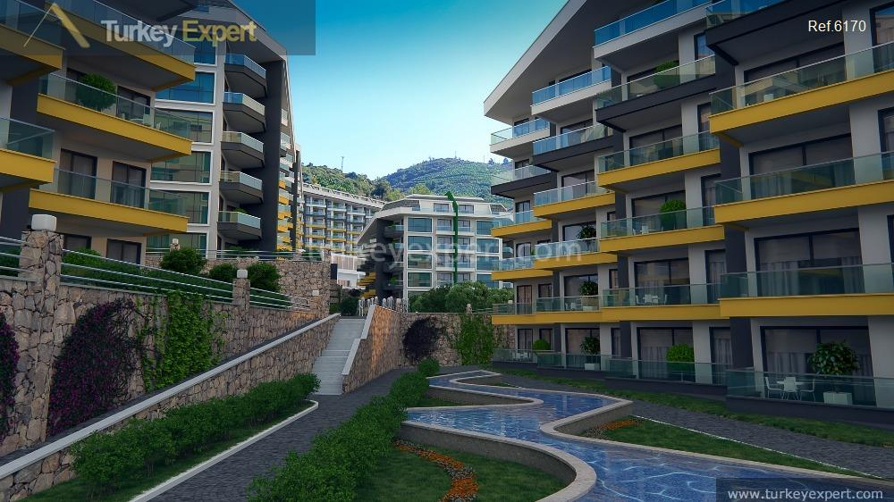 sea view apartments in alanya9