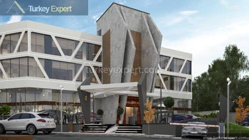Modern offices for sale in Kusadasi center