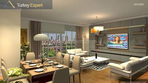 Family-oriented, spacious apartments with separated social areas