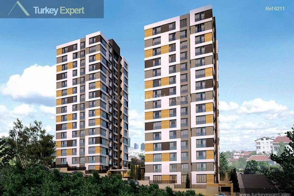 1modern apartments in kagithane district1