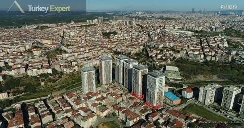 Affordable, modern & renewed apartments for sale in Gaziosmanpasa close to Taksim, Istanbul