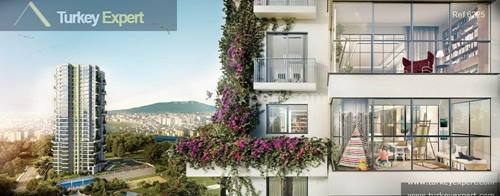 Promising investment, modern apartments for sale near the new business district of Istanbul