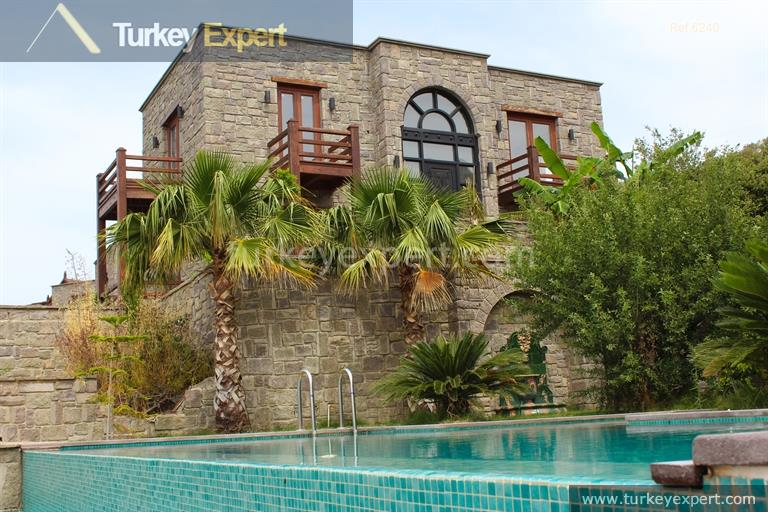 1luxury bodrum stone villas with33