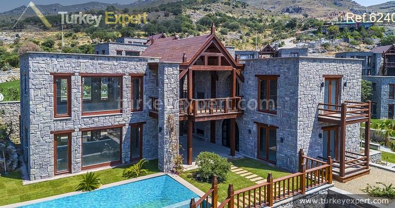 luxury bodrum stone villas with11