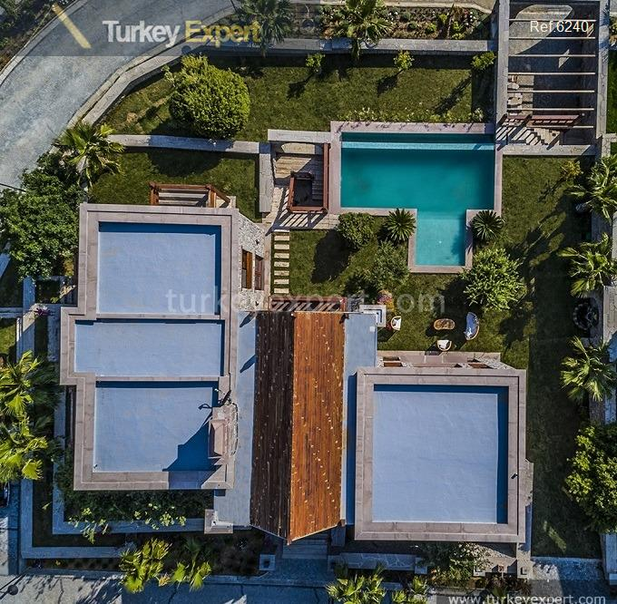 luxury bodrum stone villas with12