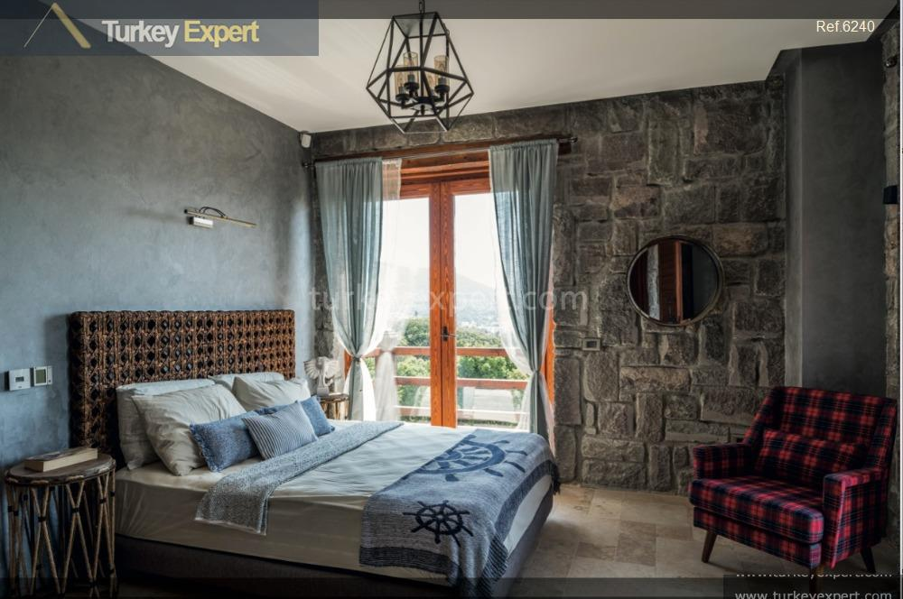 luxury bodrum stone villas with15