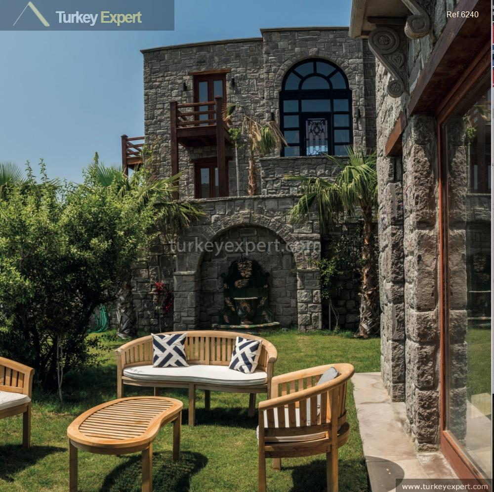 luxury bodrum stone villas with18