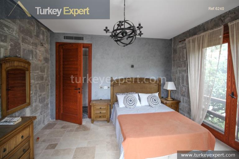 luxury bodrum stone villas with22