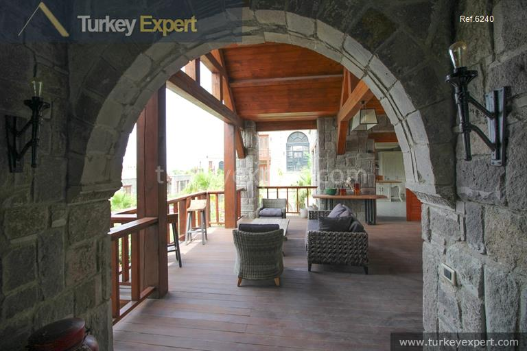 luxury bodrum stone villas with23