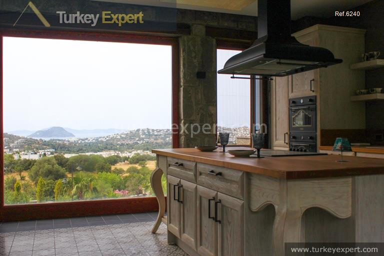 luxury bodrum stone villas with28