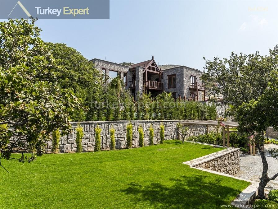 luxury bodrum stone villas with3