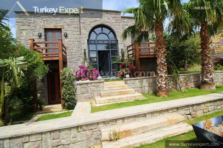 luxury bodrum stone villas with30