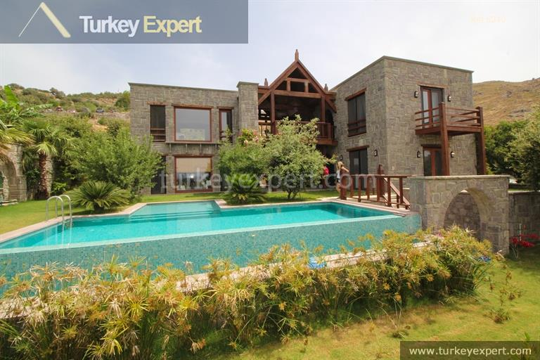 luxury bodrum stone villas with31