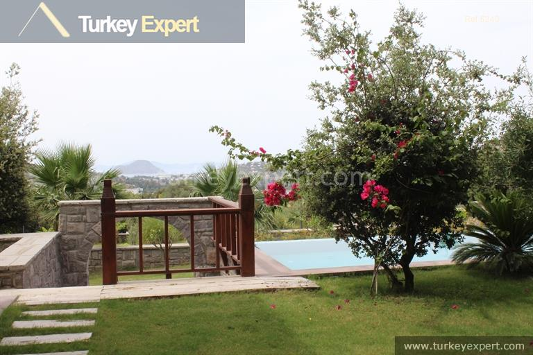 luxury bodrum stone villas with34
