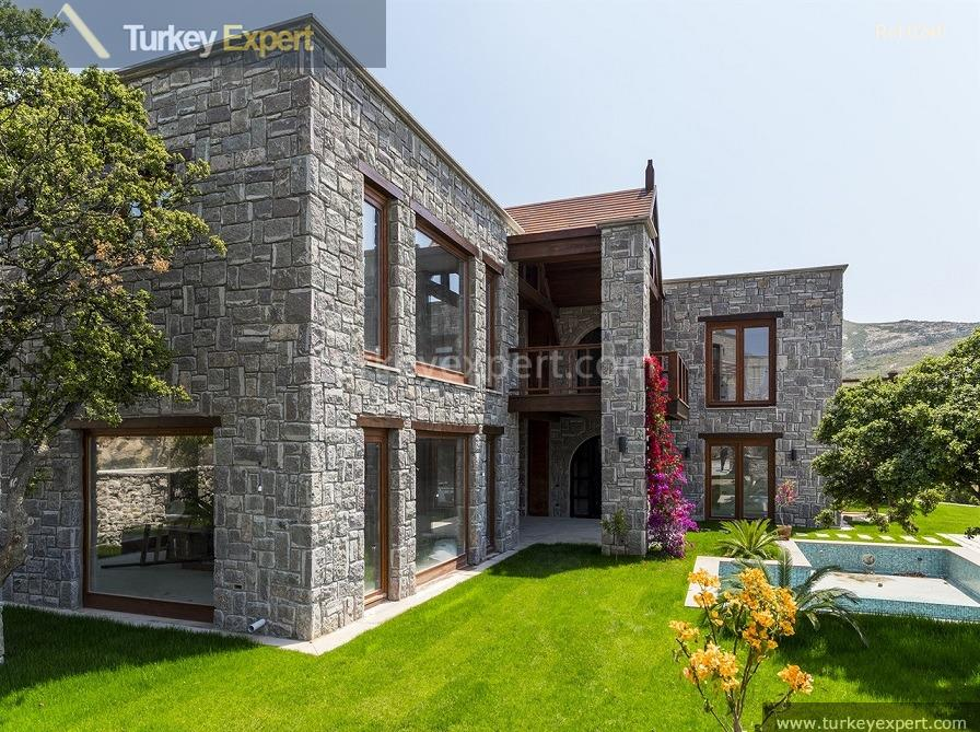 luxury bodrum stone villas with4