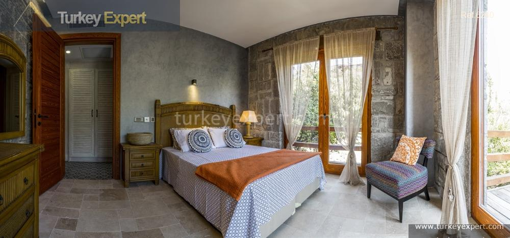 luxury bodrum stone villas with8