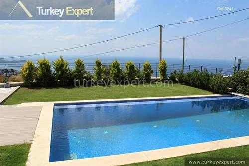Luxury Bungalows with sea views and private infinity pools in Bodrum Yalikavak